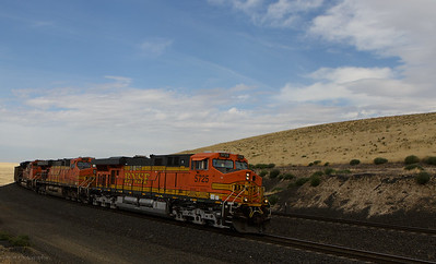 BNSF loaded coal at Providence Hill