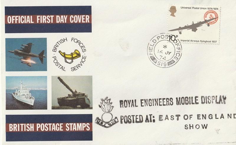 Royal Engineers Mobile Display: East of England