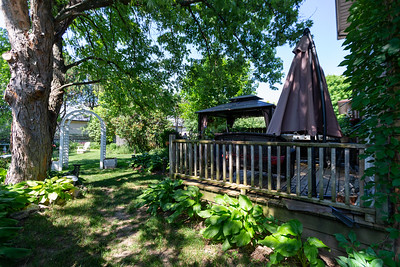 Backyard & Deck with Gazebo