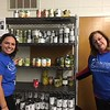 Fox Valley REALTORS® organized food at Salvation Army food pantries.