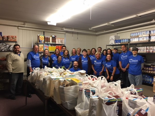 Fox Valley REALTORS® helped the less fortunate during Thanksgiving.