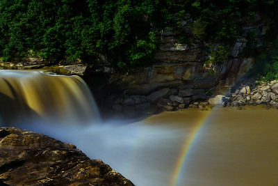 Cumberland Falls and the Moonbow  July 2018