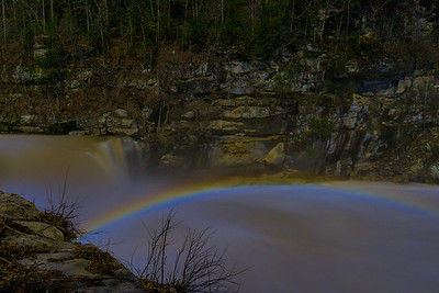 Moonbow at Cumberland Falls