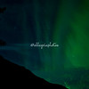 Dancing aurora borealis, Geiranger, Norway