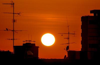 Mexico City Sunrise