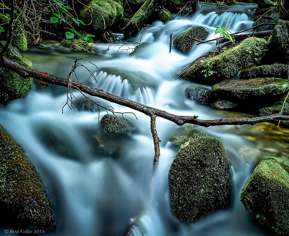 Lower Rapids - Anacola Falls