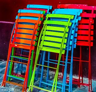Bistro Chair Storage