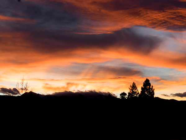 Fiery Sky Over Salida