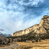 Chalk Cliffs and Saguache Mountains