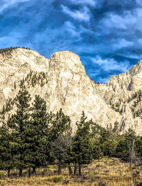 Chalk Cliffs No. 2