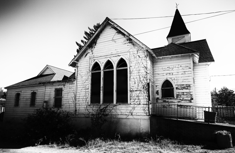 Church -- Guerneville, California (October 2016)