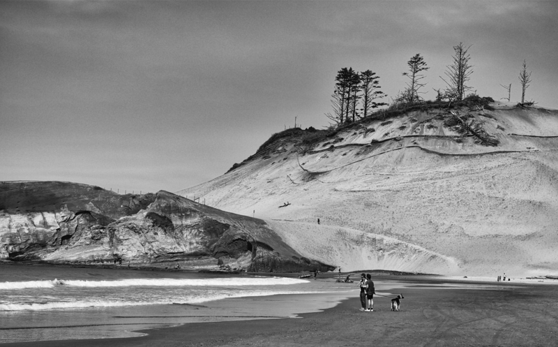 Beach Strollers -- Pacific City, Oregon (April 2016)