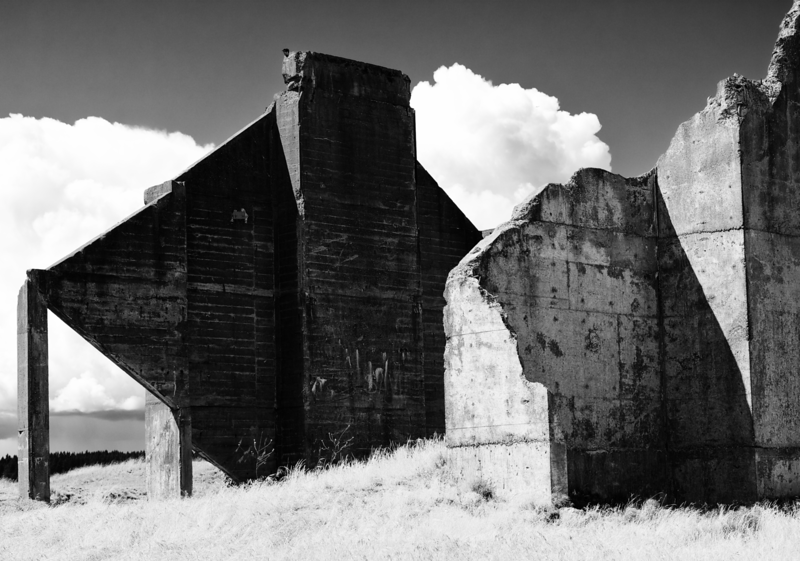 Cement Plant Ruin (1) -- Chambers Creek Park -- Tacoma, Washington (June 2016)
