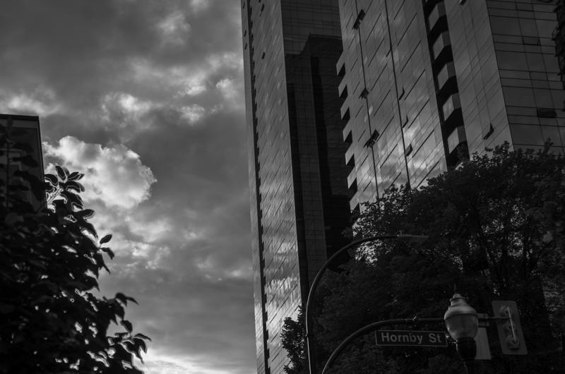Hornby Street, Vancouver, B.C. (June 2016)