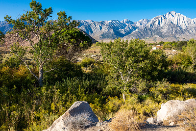 Mt. Whitney is in the upper right corner