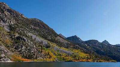 Lake Sabrina Early Fall Colors