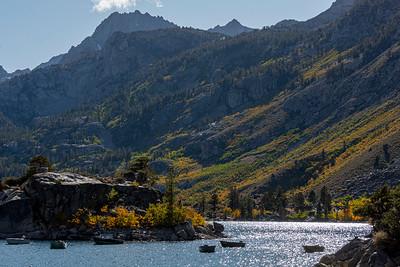 Lake Sabrina north side larger view