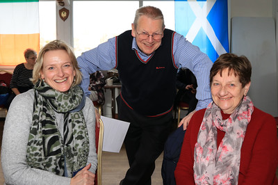 20 FEB 2020 – PICTURED L-R: Celine Larkin (CHAPS), Chris Booth (CHAPS) and Marie Taylor (CHAPS) - CHAPS Men's Health Day (Harwich) at Harwich & Dovercourt Rugby Club - Sponsored by Harwich & District Fellowship for the Sick – Photo Copyright © Maria Fowler 2020
