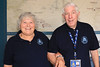 11 SEP 2021 – PICTURED: Harwich Society volunteers Lesley Elliot and Malcom Cave – Heritage Open Days weekend -  Ha'penny Pier Visitors Centre – Photo Copyright © Maria Fowler 2021