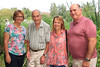 04 AUG 2019 – Pictured L-R: Hazel Blackwell, David Blackwell, Jo Truman and Ken Kirby - Bobbit's Hole Open Day & Charity Stroll – Photo Copyright © Maria Fowler 2019