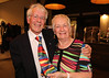 05 OCT 2019 - PICTURED: Ron Farnworth and Anna Rendell-Knights - The Harwich Society's 50th Anniversary Dinner at the Waterfront, Dovercourt – Photo Copyright © Maria Fowler 2019