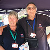 05 SEP 2021 – PICTURED: Jill and Colin West (RNLI Fundraising Team) - Parkeston Welfare Park Fun Day – Photo Copyright © Maria Fowler 2021