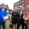 18 SEP 2021 – PICTURED L-R: John Shaw, Cllr. Jo Henderson, Mayoress of Harwich, and Cllr. Ivan Henderson, Mayor of Harwich, and Churchwarden Janet Goodall - St. Nicholas Church, Late Summer Fete  – Photo Copyright © Maria Fowler 2021