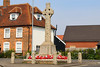 08 MAY 2020 - Dovercourt Memorial Cross - Photo Copyright © Maria Fowler 2020