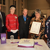 28 OCT 2019 – Presentation of Queens Award for Voluntary Services to Teen Talk Harwich – At the Harwich Arts and Heritage Centre - Photo Copyright © Maria Fowler 2019