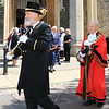 23 MAY 2019 – Pictured: Mace Bearer, John Ford and Mayor of Harwich, Cllr. Alan Todd - Harwich Town Council, Mayor Making – Photo Copyright © Maria Fowler 2019