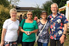 04 AUG 2019 – Pictured: Amelia Haynes, Margaret Saunders, Dee King and Dave McLeod - Bobbit's Hole Open Day & Charity Stroll – Photo Copyright © Maria Fowler 2019