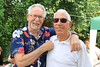 04 AUG 2019 – Pictured: L-R Dave McLeod and Stan Box - Bobbit's Hole Open Day & Charity Stroll – Photo Copyright © Maria Fowler 2019