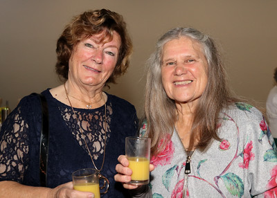 05 OCT 2019 – PICTURED: Harwich Society volunteers Janet Rice and Chris Theobald - The Harwich Society's 50th Anniversary Dinner at the Waterfront, Dovercourt – Photo Copyright © Maria Fowler 2019