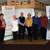 20 FEB 2020 – PICTURED L-R: Celine Larkin (CHAPS), Marie Taylor (CHAPS), April Gates (Aortic Aneurysm Screening), Chris Booth (CHAPS) Kathryn Male (Harwich & District Fellowship for the Sick), Kathy Johnson (Harwich & District Fellowship for the Sick), Barry Male (Harwich & Dovercourt Rugby Club) and Betty Holbrook MBE (Harwich & District Fellowship for the Sick),- CHAPS Men's Health Day (Harwich) at Harwich & Dovercourt Rugby Club - Sponsored by Harwich & District Fellowship for the Sick – Photo Copyright © Maria Fowler 2020