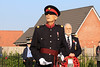 08 NOV 2020 – PICTURED: Nigel Spencer MBE, Deputy Lord Lieutenant of Essex - Wreath laying, Remembrance Sunday, Dovercourt Memorial Cross – Photo Copyright © Maria Fowler 2020