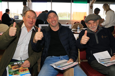20 FEB 2020 – PICTURED L-R: Steve Webb, Tim Leeks and Bob Fenton - CHAPS Men's Health Day (Harwich) at Harwich & Dovercourt Rugby Club - Sponsored by Harwich & District Fellowship for the Sick – Photo Copyright © Maria Fowler 2020
