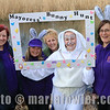 13 APR 2019 – Pictured: Sue Heath (Home-Start Harwich), Frances Jones (Home Start), Diane McCann (Home-Start), Kate Powell, Mayoress of Harwich, and Wendy Taylor-Jones (Home-Start) - Mayoress' Bunny Hunt at Bobbit's Hole. Photo Copyright © Maria Fowler 2019