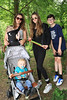 04 AUG 2019 – Bobbit's Quiz Trail  Pictured L-R: Hunter Bradnum (front) Marney Bradnum with mum Alana Bradnum, Alissa Bradnum-Godfrey and Ronan Bradnum-Godfrey - Bobbit's Hole Open Day & Charity Stroll – Photo Copyright © Maria Fowler 2019
