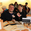 08 FEB 2020 – Pictured: Russell Foulger and Raisa Yates (Podlin Designs) - St Nicholas Church Clock Fund Craft Fair at The 1912 Centre, Harwich – Photo Copyright © Maria Fowler 2020
