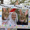 13 APR 2019 – Pictured: Bethany Taylor (Home-Start Harwich) Kate Powell, Mayoress of Harwich, and Emma Burrows (Home-Start) - Mayoress' Bunny Hunt at Bobbit's Hole. Photo Copyright © Maria Fowler 2019