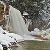 Douglas Falls in Snow and Ice
