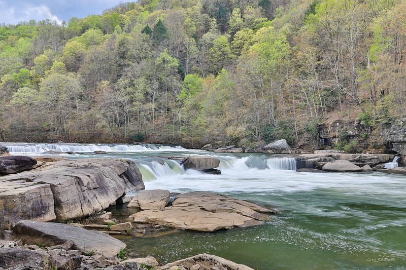 Valley Falls, WV in Spring Color