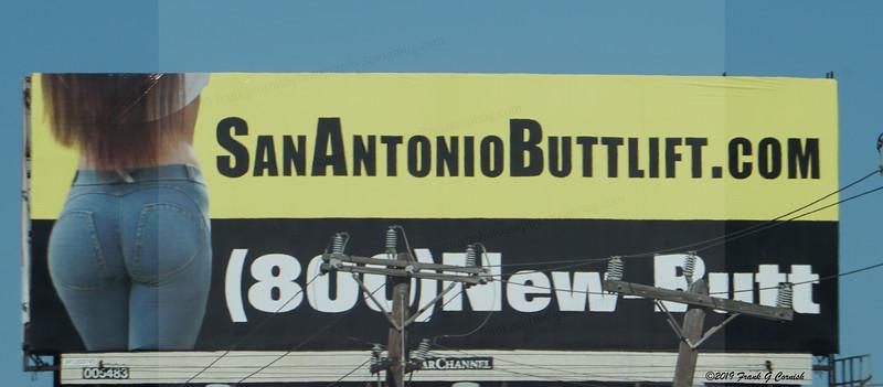 San Antonio butts