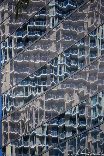 Abstrat window reflection