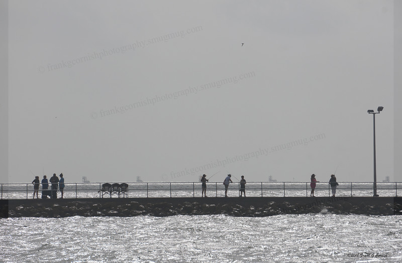 Fishing the Rockport pier