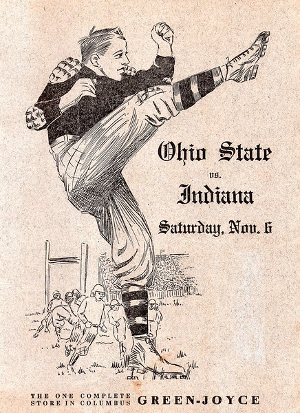 1915-11-06 Indiana at Ohio State