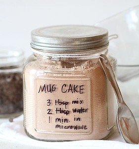 Chocolate Mug Cake in One Minute