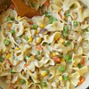 Creamy Chicken Pot Pie Noodles