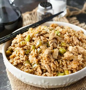 Chicken 'Fried' Rice