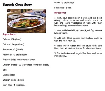 Superb Chop Suey